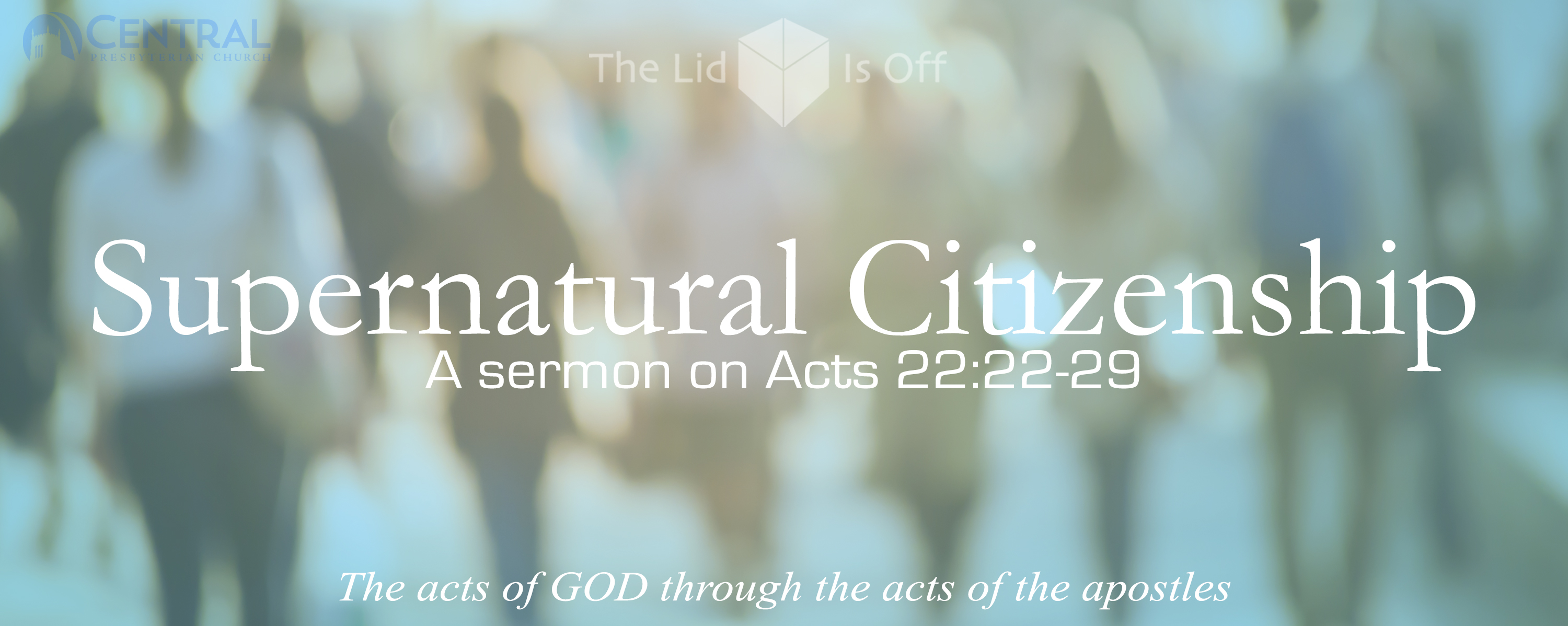 Supernatural Citizenship